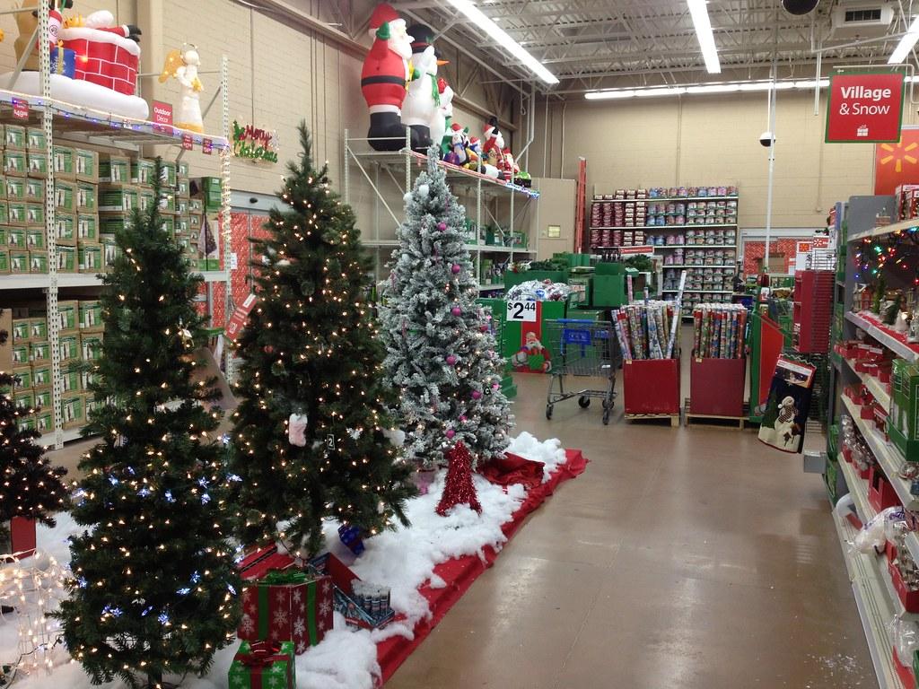 White Christmas Tree Walmart