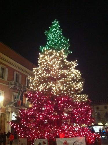 Christmas Tree Ravenna Italy Pietro Zanarini Flickr