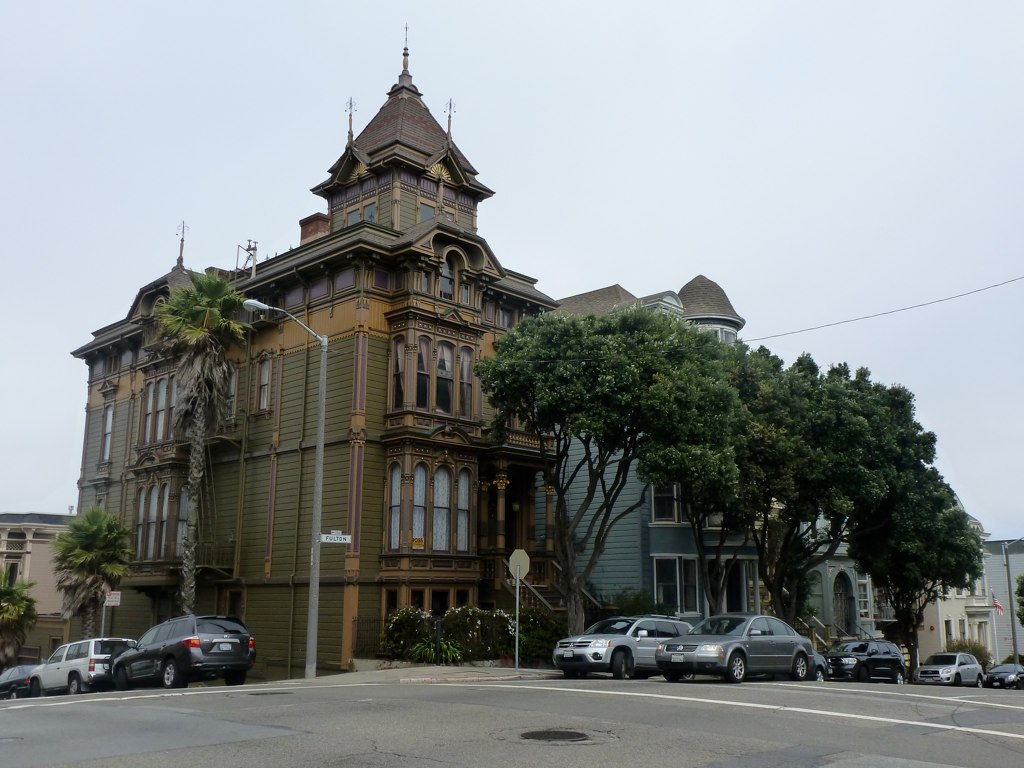William Westerfeld House Alamo Square San Francisco Onc