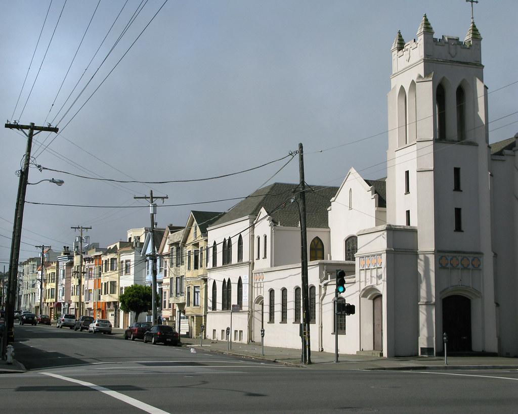 Richmond district San Francisco Looking south
