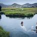 Landmannalaugar bathing