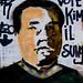 """Vote Kim Il-sung"" - Amsterdam Street Art"