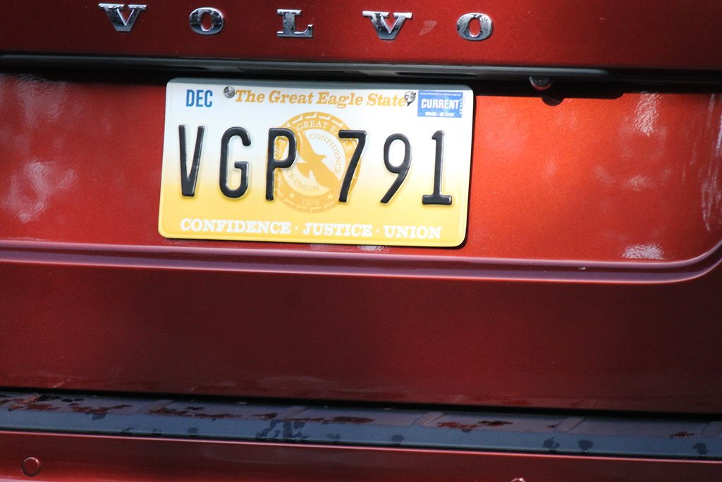 License Plate Camera >> The Great Eagle State License Plate on Wisteria Lane | Flickr
