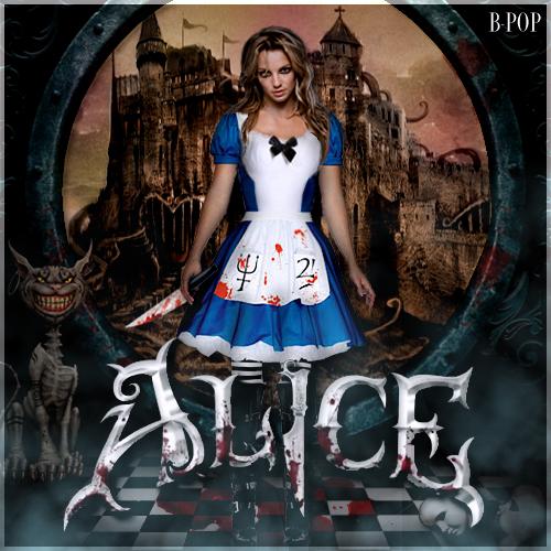 Alice In Wonderland Movie: Britney As Alice In Wonderland