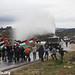 Demonstration against the occupation, Nabi Saleh, West Bank, 13.01.2012
