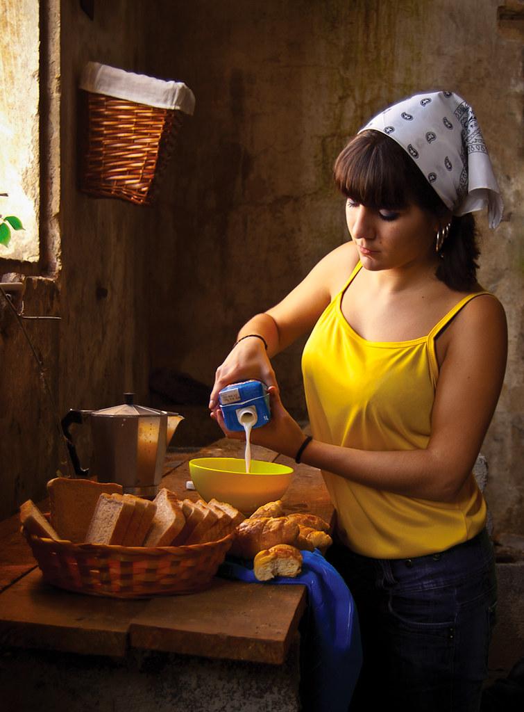 Dairywoman s xxi la lechera johannes vermeer c 1660 - La lechera de vermeer ...