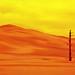 Dead Tree, Blowing Sand, Cape York, Endeavour Rim, Mars