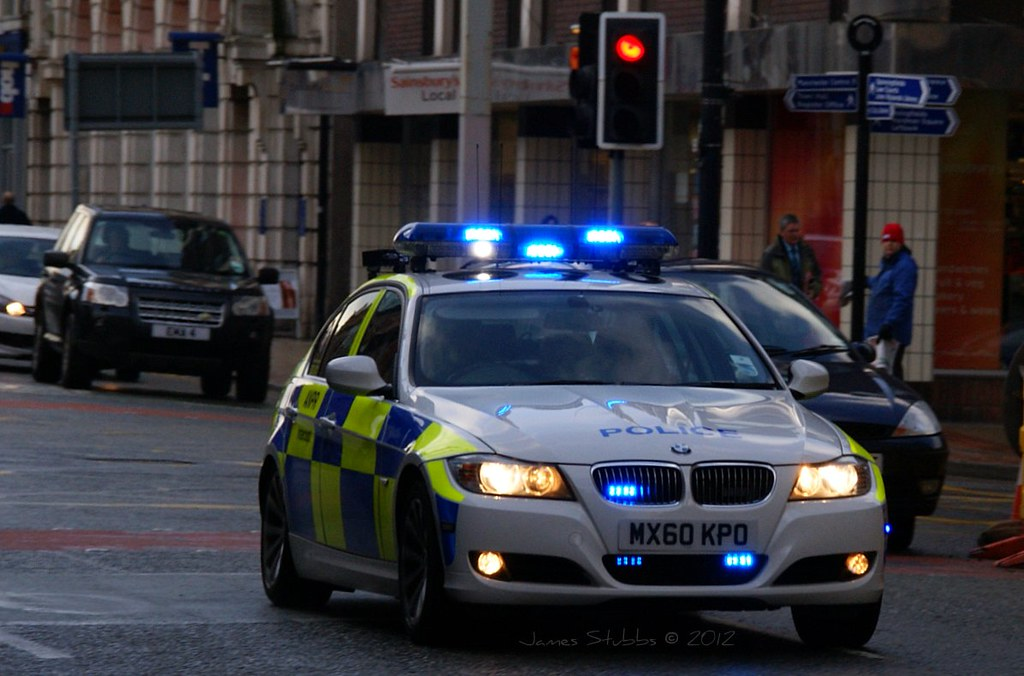 Mx60kpo Gmp Greater Manchester Police Bmw 3 Series Saloo