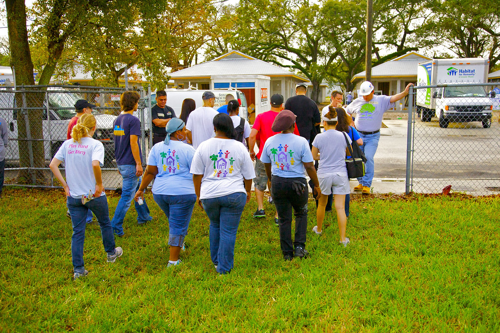 Habitat For Humanity Build A House Volunteer Duties