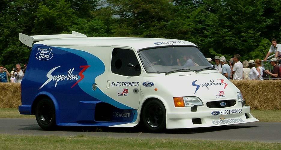 Ford Transit Van >> Ford Transit van with Cosworth Cosworth DFL 3.9L V8 engine ...