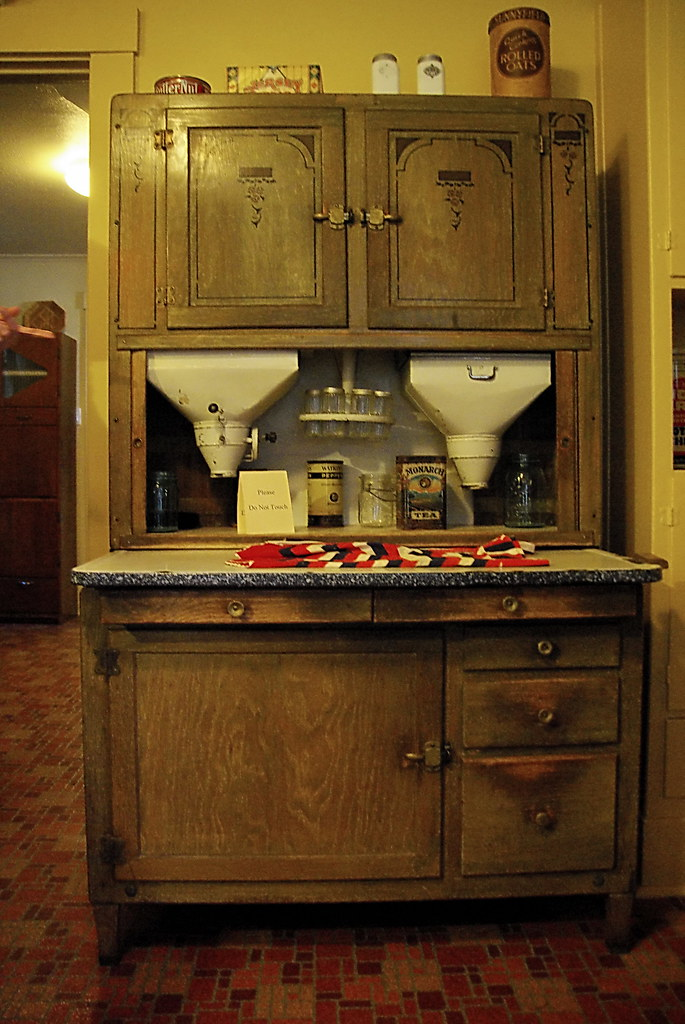 Original Hoosier Cabinet Historic Kolb Residence Grand