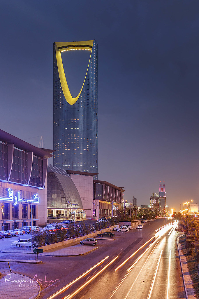 kingdom centre al mamlake tower riyadh saudi arabia
