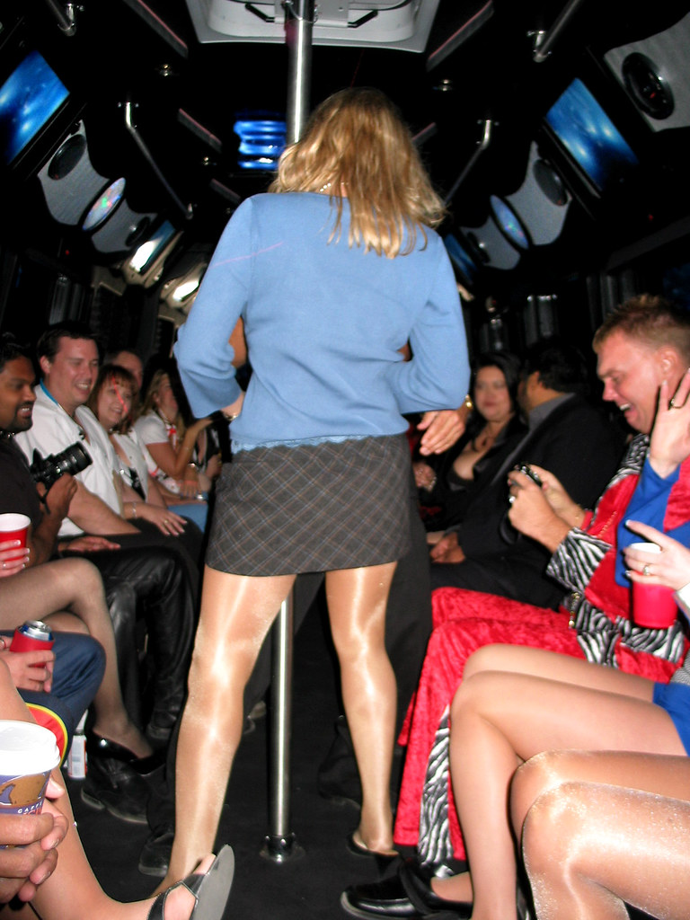 Pantyhose Party 8