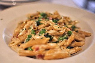 Whole wheat penne Carbonara | by mhaithaca