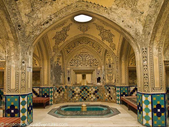 Hammam-e Sultan Mir Ahmad, Bath House, Kerman, Iran | Flickr: https://www.flickr.com/photos/motomonkeyadventures/6481221973