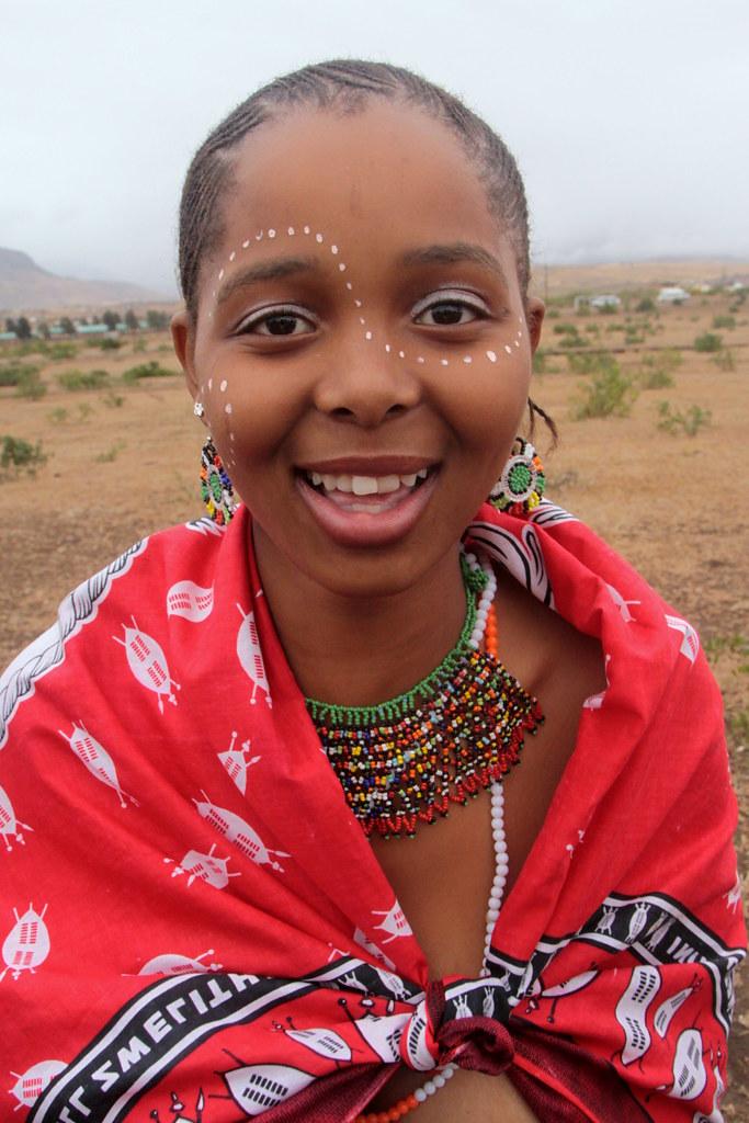 South Africa - Zulu Reed Dance Ceremony  Zulu Reed Dance -6545