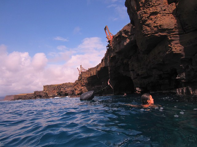 Cliff Diving Big Island South Point