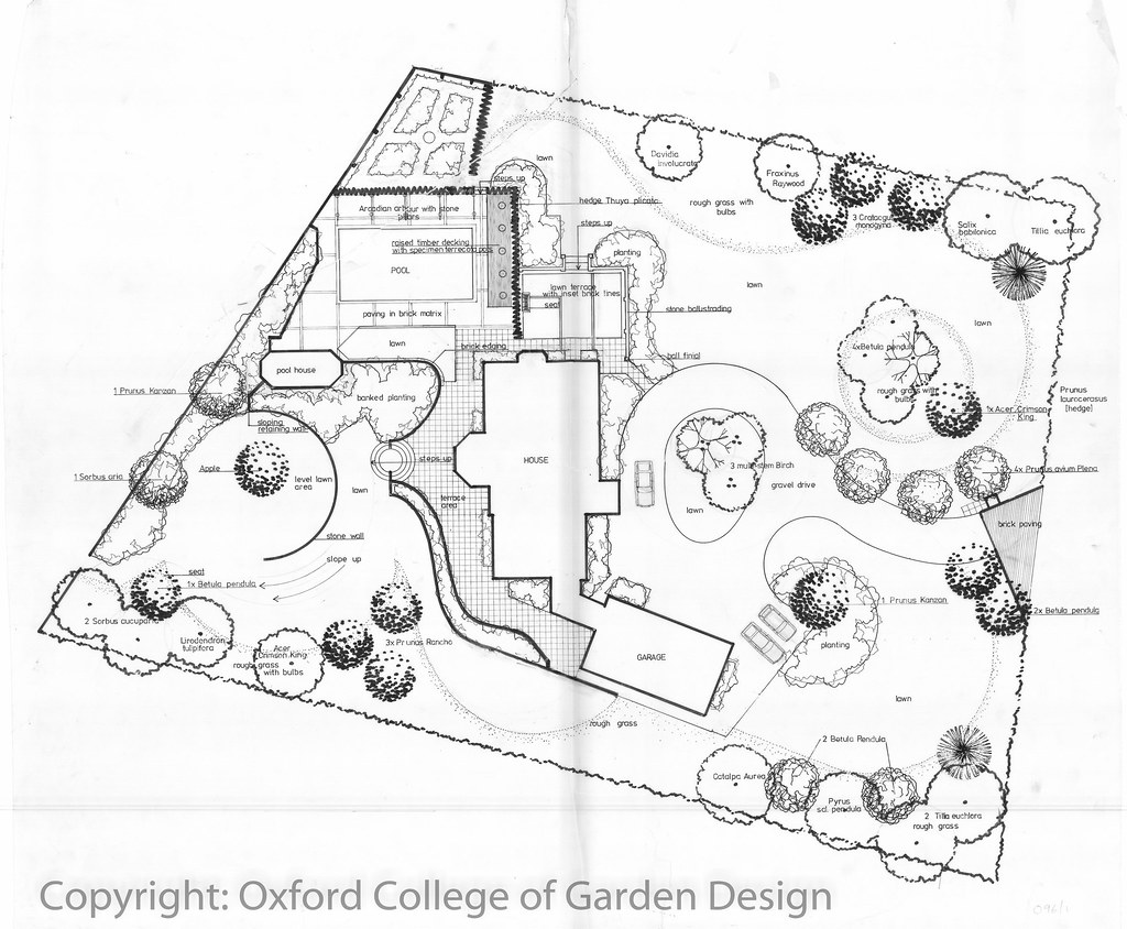 100 garden landscape design oxford college of garden for Oxford garden designs