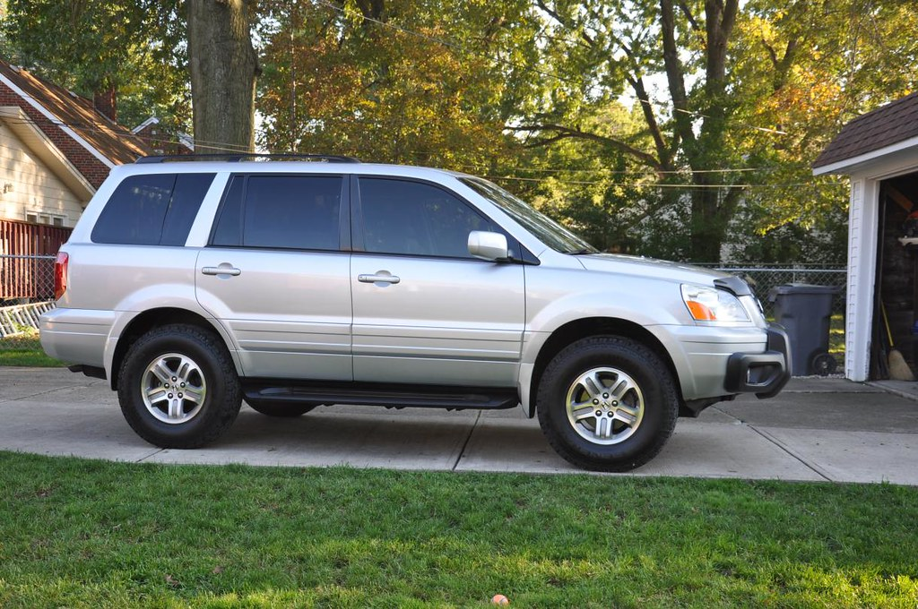 2005 honda pilot with ready lift 2in lift and 235 85 16 39 s