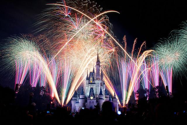 Wishes Nighttime Spectacular Disney World