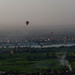 Hot air balloons over the Nile