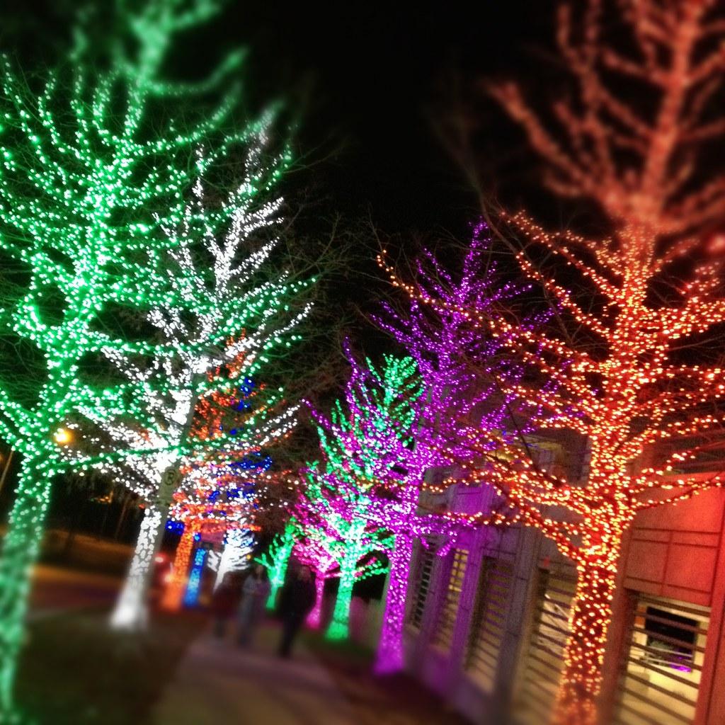 Christmas Lights Chesapeake Energy Fort Worth Texas IMG_26