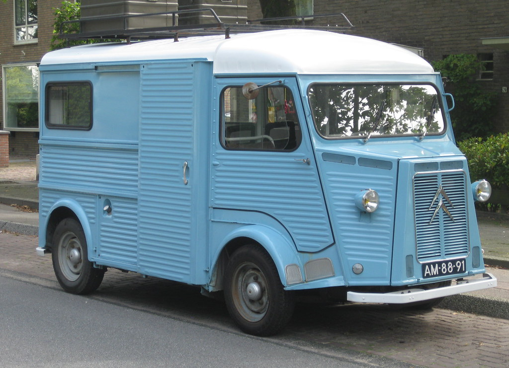 CITROEN HY, campervan, 20-6-1967 | Ontwerp / design ing. And… | Flickr