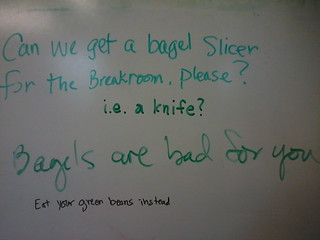 Sign here to designate this breakroom as gluten-free | by passiveaggressivenotes