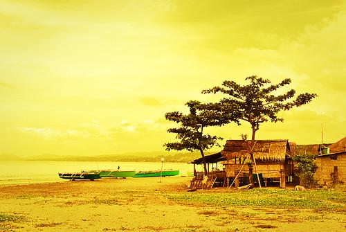 Beach Nipa Hut Beach House Nipa Hut in The