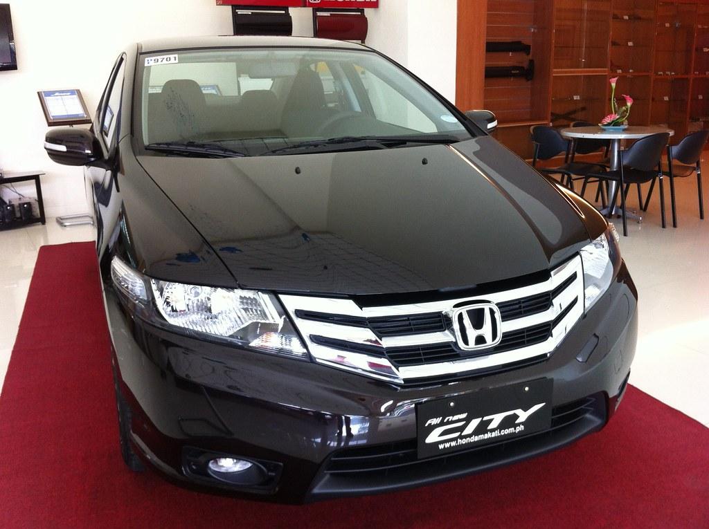 2012 honda city 1 5e in sparkling brown color javin for Honda black car