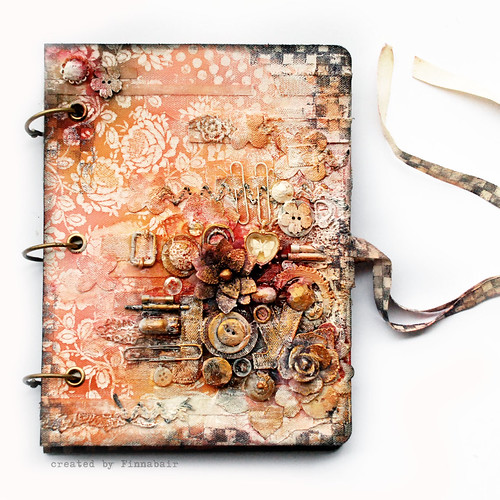 Prima mixedmedia book | by finnabair