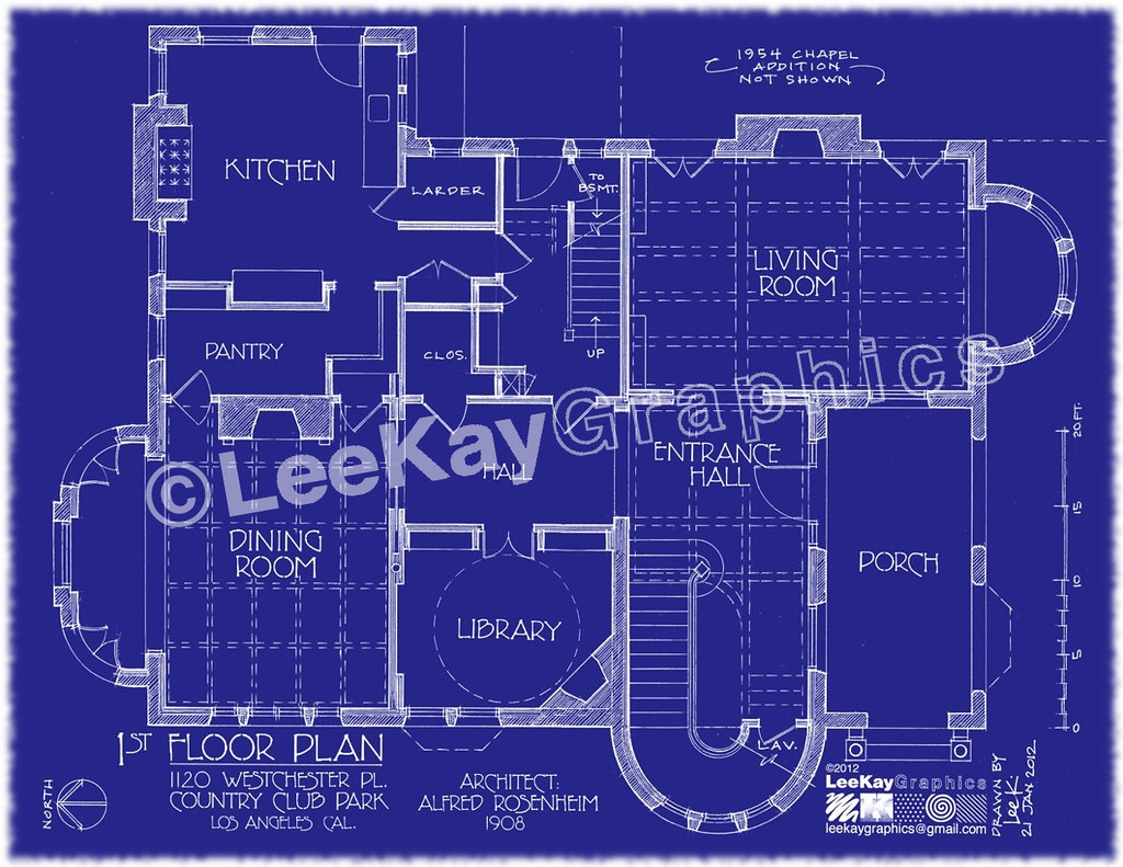 1120 westchester pl 1st floor plan special thanks to