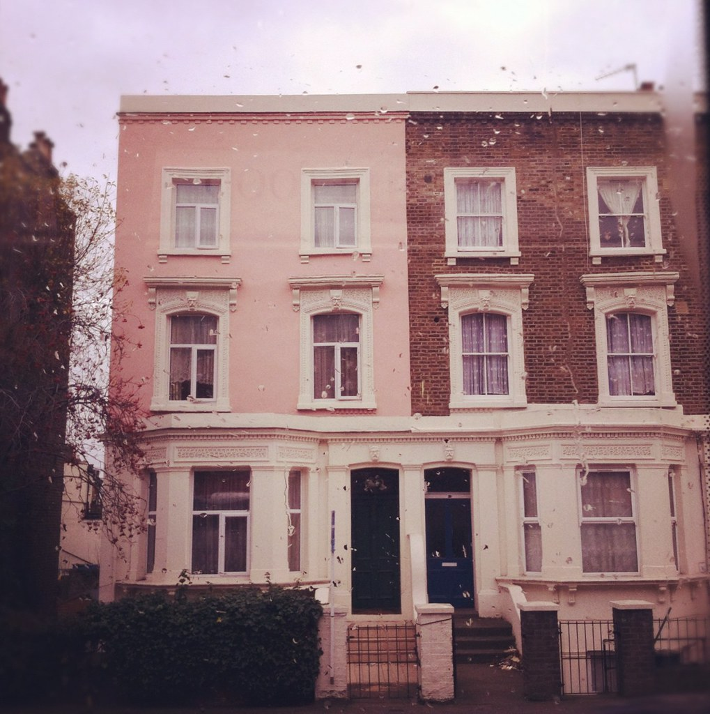 London Apartments: Taken During A Bus Tour Through