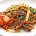 kimchi and japchae: perfect combination
