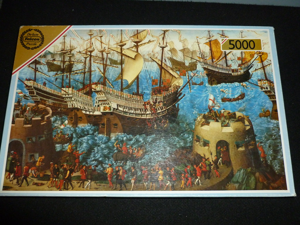 5000 piece puzzle the embarkation of henry viii by unkno. Black Bedroom Furniture Sets. Home Design Ideas