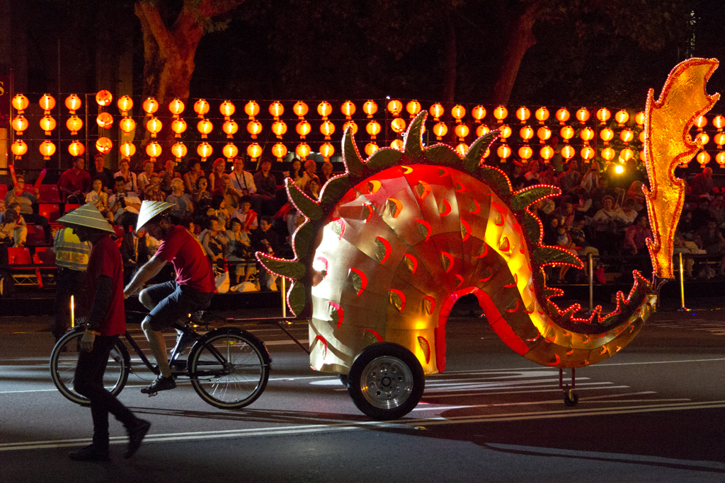 dragon's tail | Chinese New Year Twilight Parade ...