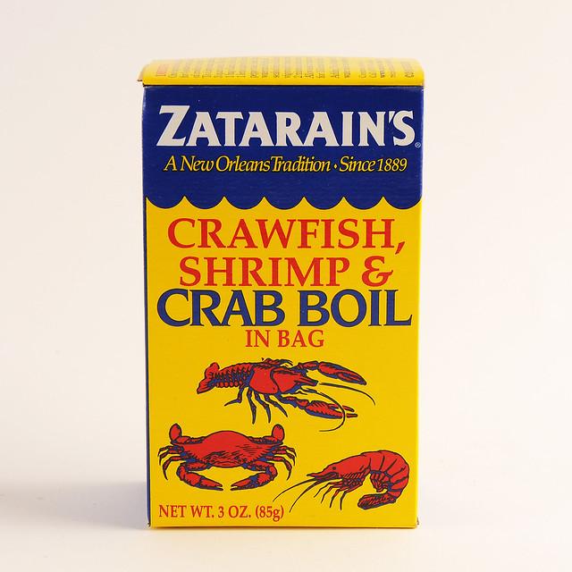 Zatarain 39 s shrimp crab boil spice pouch flickr for Hagen s fish market