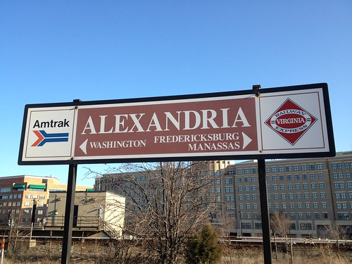 Sign At Alexandria's Union Station | by Carlyle News