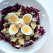 Hard Eggs, Potatoes and Radicchio