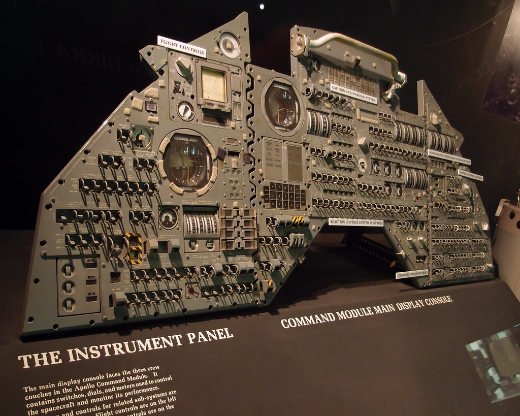 National Air & Space Museum - Instrument Panel from Apollo ...