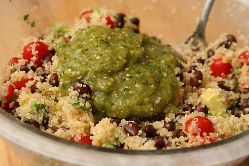 black bean quinoa 4 | by crumblycookie