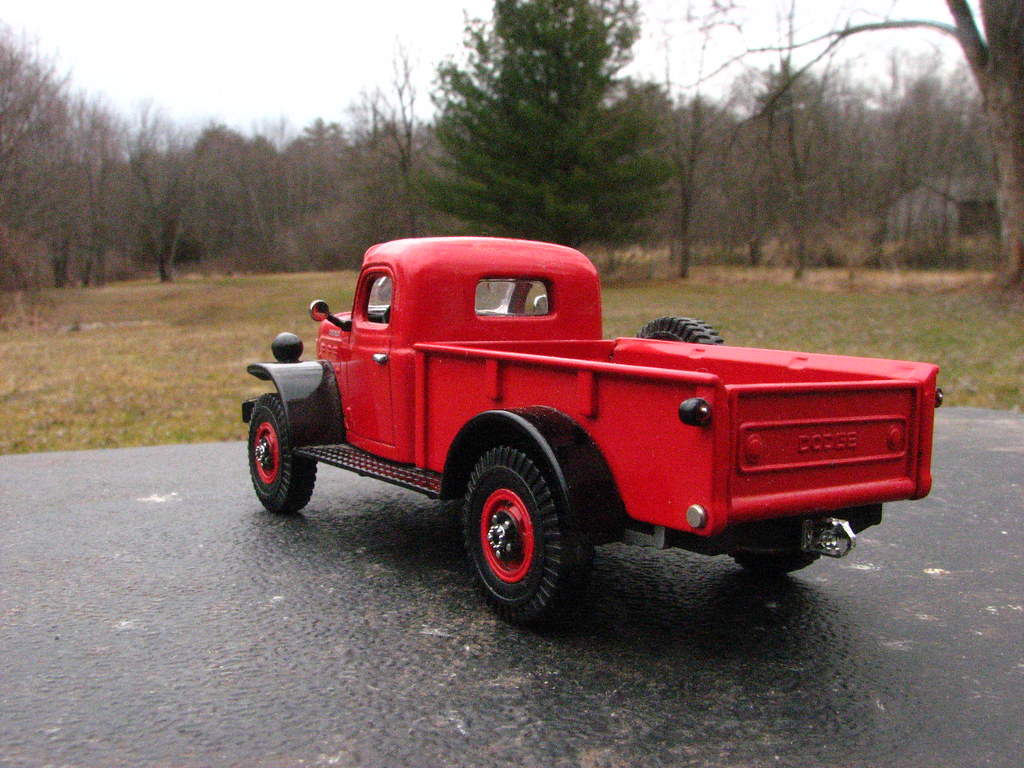 A 1946 DODGE POWER WAGON IN 1/43 SCALE | From Matchbox ...