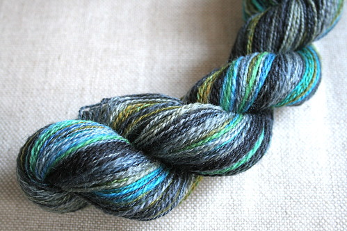 Handspun Enchanted Knoll Bliss | by farwellclay