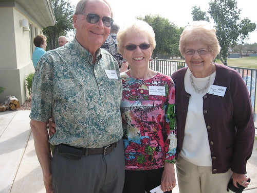 John Fischer, LaVone Van Wechel Fischer '56, Joyce Brunner | by University of Minnesota, Morris Alumni Association
