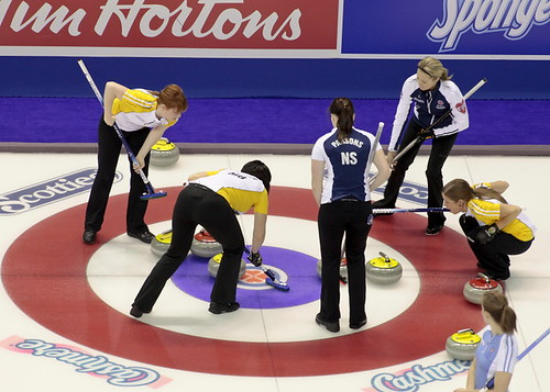 Team Manitoba and Team Nova Scotia | by seasonofchampions