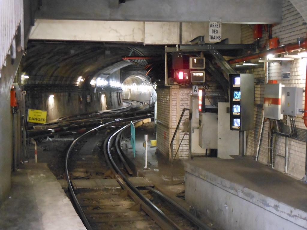 Station m tro porte d 39 italie 4 f vrier 2012 porte d 39 ita for Metro porte d italie