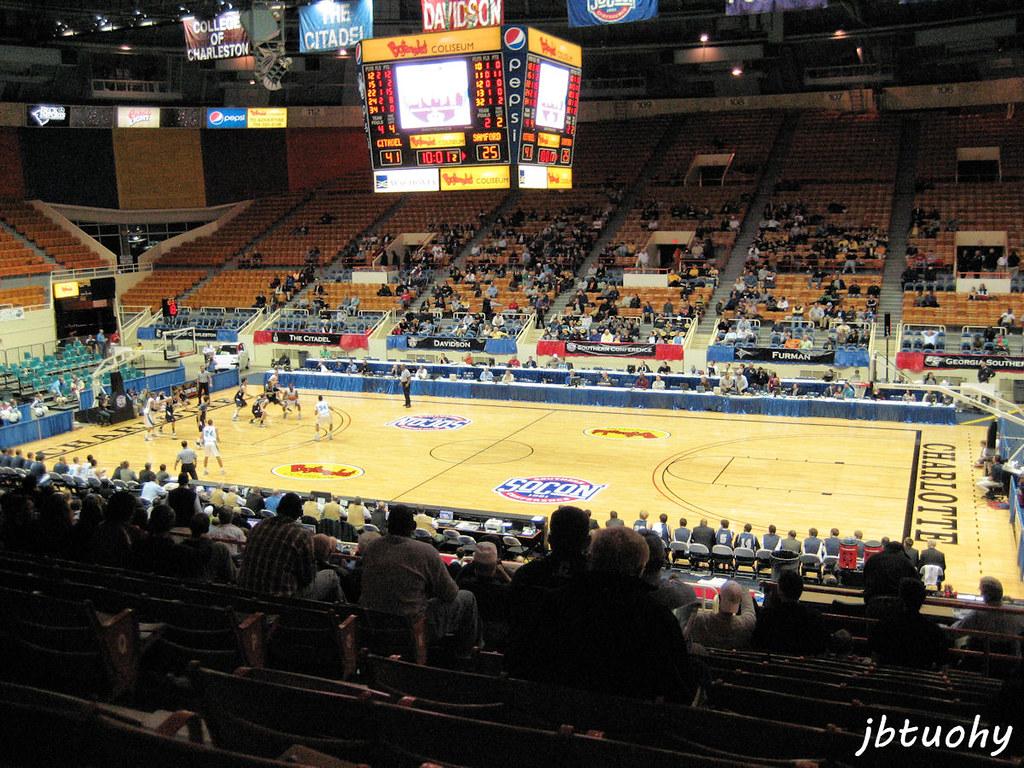 bojangles coliseum a 9 605 seat arena located in charlotte flickr. Black Bedroom Furniture Sets. Home Design Ideas