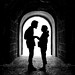 the romantic tunnel by D.F.N. Noir & Blanc black & white