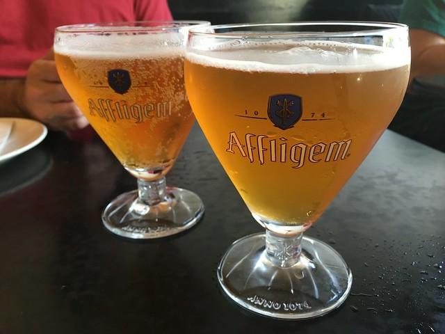 Affligem blonde beer - Mama Ji's