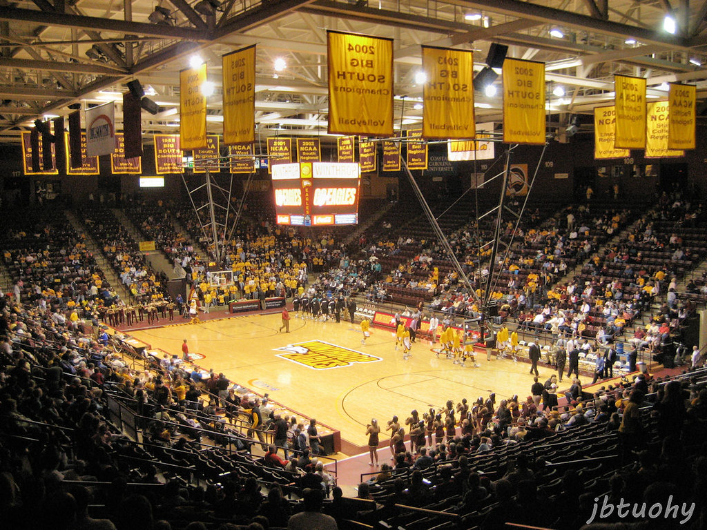 Winthrop Coliseum | Home of the Winthrop Eagles who play ...